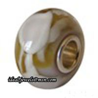 Wholesale Pandora Sterling Silver Murano Glass Beads IB-B 013