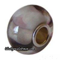 Wholesale Pandora Sterling Silver Murano Glass Beads IB-B 015