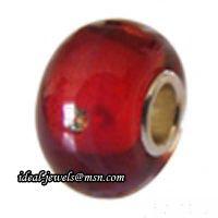 Wholesale Pandora Sterling Silver Murano Glass Beads IB-B 019