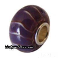 Wholesale Pandora Sterling Silver Murano Glass Beads IB-B 020