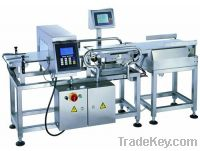 Sell automatic metal detection and weight checking, sorting