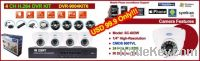 H.264 full D1 4Ch DVR KITs with 4pcs Dome IR Camera $99.9 --Weisky
