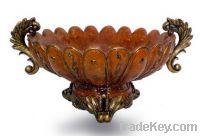 Antique Polyresin Bowl