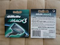 Gillette mach3 razor blades 8's EU version