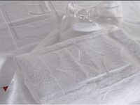 hotel textile-towel with embossed logo