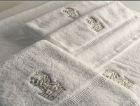 hotel textile-towel with embroidery logo