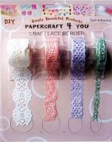 Sell paper craft lace border