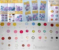 scrapbooking craft buttons