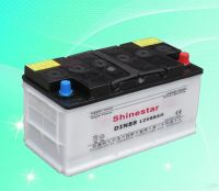DIN88 Dry Charged Car Battery
