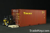 20 GP Container Simulation Model Door Can Open