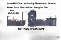 Sell Auto OPP Film Laminator for Solvent, Water base, Thermal film