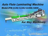 Sell Auto Flute Laminating Machine