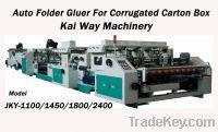 Sell Auto Folder Gluer for Corrugated Carton Box/Corrugated Box Folder