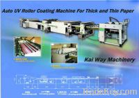 Sell Auto UV Roller Coating Machine for Thick and Thin Paper