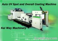 Sell Auto UV Spot and Overall Coating Machine