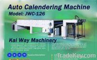 Sell Auto Calendering Machine