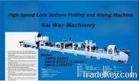 Sell High Speed Lock Bottom Folder Gluer for Box Making