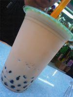 tapioca milk tea, tapioca pearls