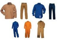 100% cotton fire resistant workwear for fireman