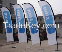 110gsm-250gsm fabric flags and banners printed with dye-sublimation