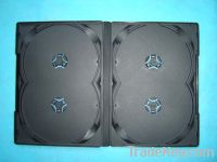 Sell DVD CASE dvd cover14mm for 4 Discs Black without Tray (YP-D8082)