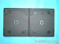 Sell pp case cd case cd box 7MM Short Double Black  (YP-D810H)