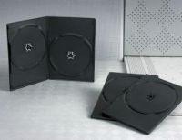 Sell DVD cover dvd box dvd case 7mm double black for dvd-r(YP-D806H)