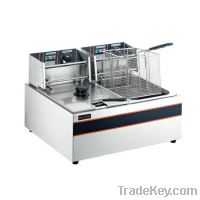 Sell Electric Fryer  OP-89 (2-Tank, 2-Basket)