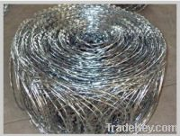 Sell Flat wrapped Razor barbed wire
