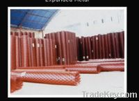 PVC coated expanded metal