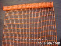 orange safety barrier
