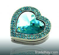 Heart Purse Valet Compact Handbag Holder Wedding Favor