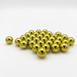 Multi-colored steel ball