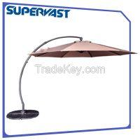 Curvedback hanging umbrella