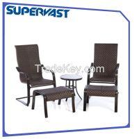 5pc rattan deep seating set