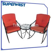 3pc Rocking chair chat set