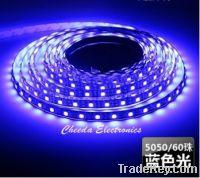 Sell 5050 led strip light blue 12v 24V 60led/m  5m roll
