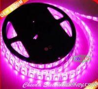 Sell Beautiful ! 5050 60pcs waterproof pink led strip light