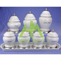 Sell 7pcs Canisters HMT 10483