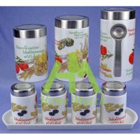 Sell 7pcs Canisters HMT10489
