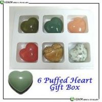 Sell 6 puffed hearts carving gift box