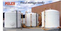 Fiberglass Olive Storage Tank