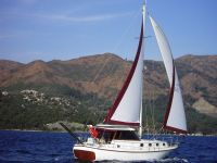 Sell fiberglass motorboat