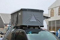 Car roof tent for hiking