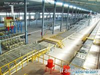 Sell gypsum board production machine with skillful installation teams