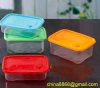 plastic microwave storage container, food storage box, fresh-keeping box
