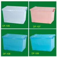 plastic container, organizer storage container, rolling storage box
