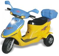 Sell Plastic battery operated kids motocycle