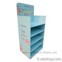 Sell Aromatherapy Cardboard Floor display rack