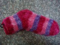 offer knitting socks, haps, scraves